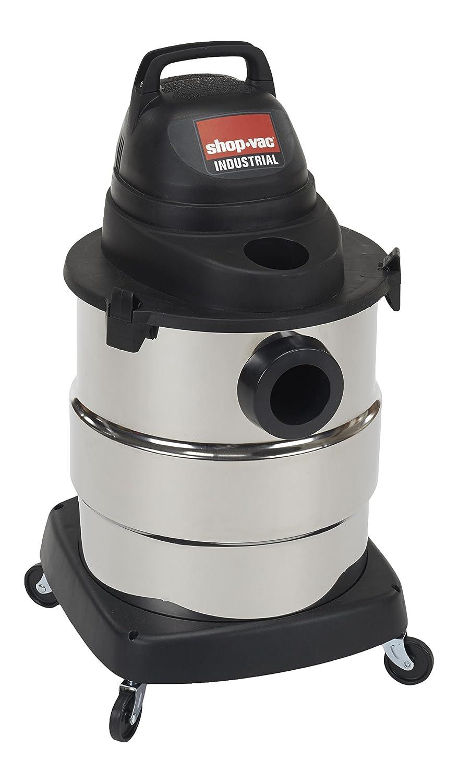 Shop-Vac 6000110 4.5 Peak HP Stainless Steel Wet Dry Vacuum, 6-Gallon