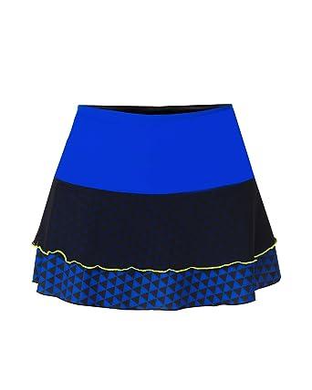 IDAWEN Sport Fashion Falda Deporte Mujer. Falda Vuelo para Padel o Tenis. (XS