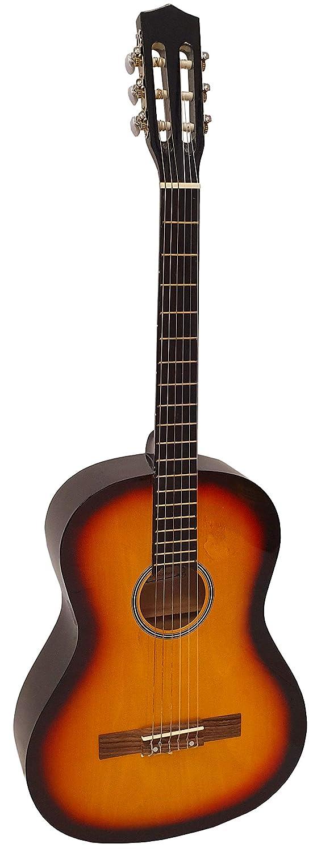 Guitarra clásica Romanza CANDELA 4/4 sunburst para iniciarse en la ...
