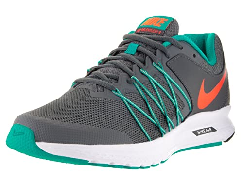 NIKE Mens Air Relentless 6 Drk Gry/Ttl Orng/Clr JD/CL Gry