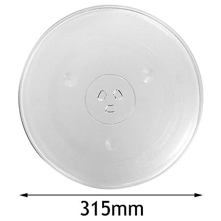 Spares2go cristal Tocadiscos placa para Kenwood Horno De ...