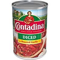 Contadina Empaque con 12 Piezas de Tomates en Trocitos Ajo Rostizado, 411 g,