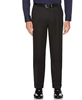 Perry Ellis Mens Portfolio Mens B/&t Classic Nailhead Dress Pant Pants