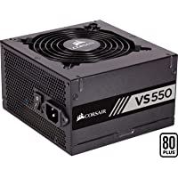 Corsair VS550 Alimentation (550 watts, Active PFC, certifiée 80 PLUS White) Noir