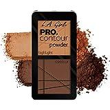 LA Girl Medium Deep Pro Contour Powder, Multicolor, 5.6g