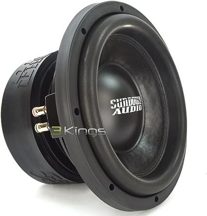 Sundown Audio SA-10 V.2 D4 10 Dual 4 OHM 1000W RMS SUBWOOFER BASS Speaker New Black