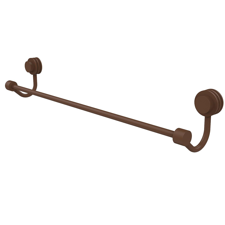Allied真鍮Venusコレクション24インチタオルバーでビーズのアクセント 24-Inch ブラウン 421D/24-ABZ 1 B00Y37H234 ブロンズ(antique bronze) ブロンズ(antique bronze)