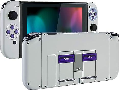 eXtremeRate Carcasa para Nintendo Switch,Funda Completa para Mando Controlador Consola Joy-con de Nintendo Switch Shell de Bricolaje reemplazable con Botón Completo (Estilo clásico de SNES): Amazon.es: Electrónica