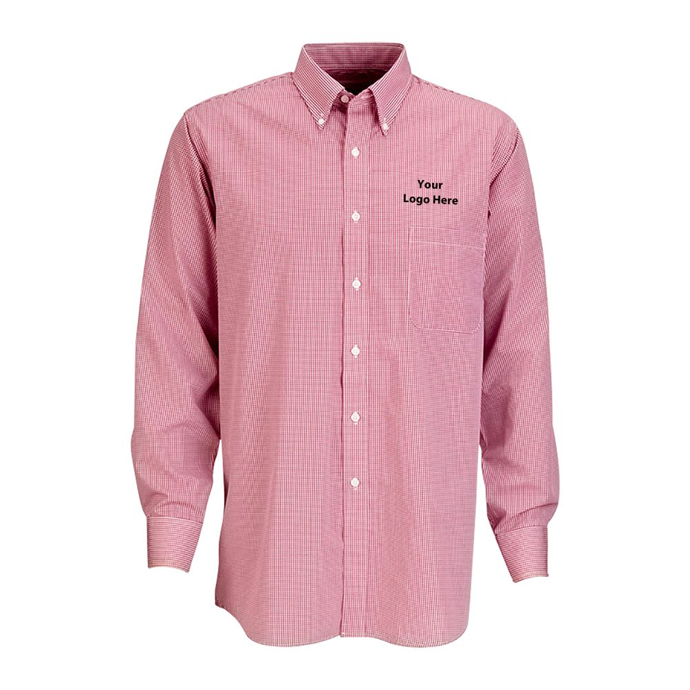 Gingham Check Shirt - 12 Quantity - $39.40 Each - BRANDED/CUSTOMIZED