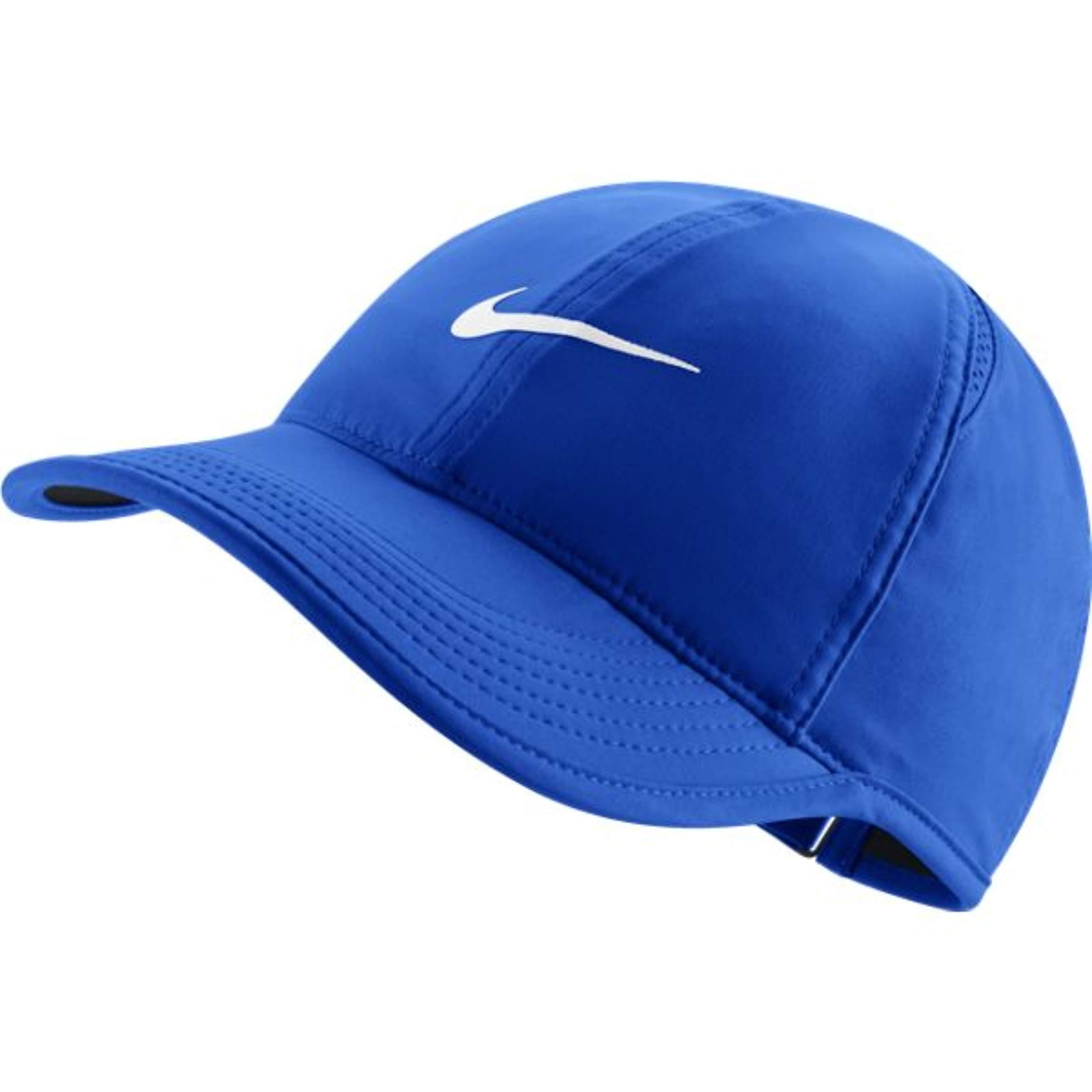 NIKE Womens Featherlite 2.0 Adjustable Hat (Sky-Blue)