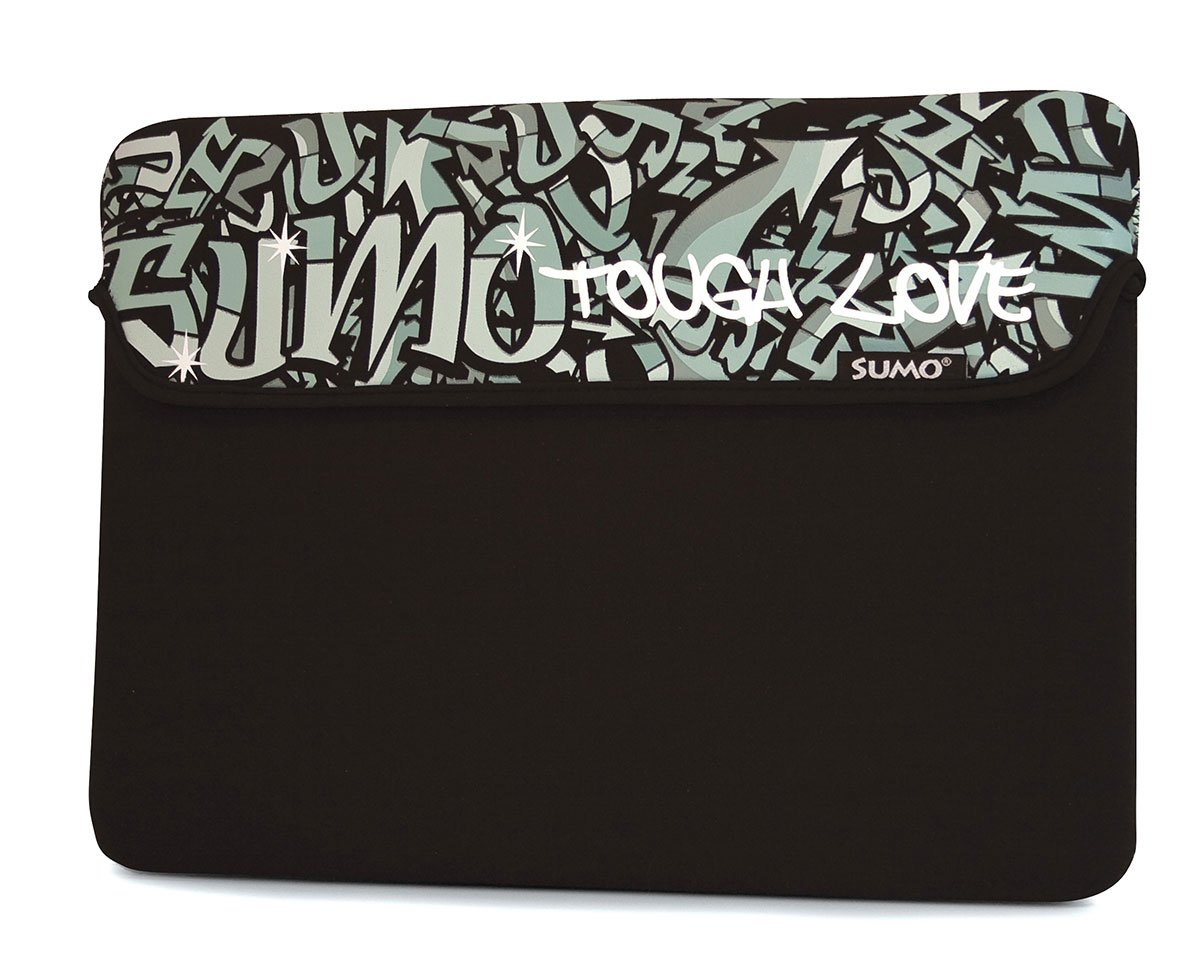 Mobile Edge Sumo Graffiti 10 Laptop Computer Sleeve in Black