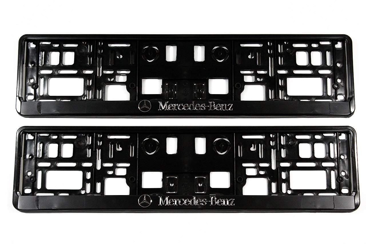 Set of 2  x NEW Premium License Plate Holder License Plate Holder Generic
