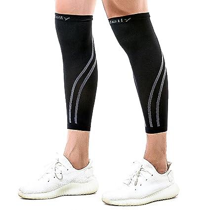 2ae5eec9ad Amazon.com: Udaily Calf Compression Sleeves for Men & Women (20-30mmhg) -  Calf Support Leg Compression Socks for Shin Splint & Calf Pain Relief:  Sports & ...
