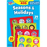 Trend T580 Stinky Stickers Variety Pack, Seasons/Holidays, 432 per Pack