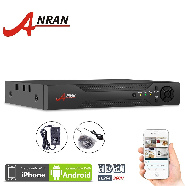 Anran H 264 Network 960h Full D1 Motion Detection 4ch Dvr