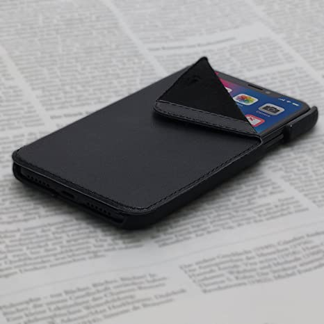 Cover iPhone X Book - Black