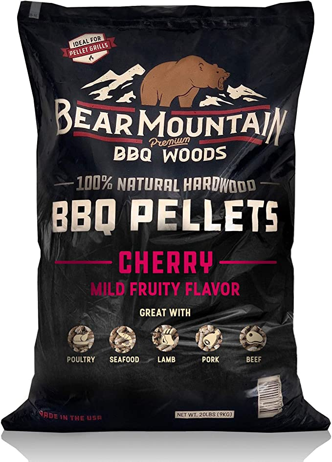 Bear Mountain BBQ 100% All-Natural Hardwood Pellets - Best Variety of Flavors