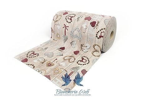 Biancheriaweb tappeto passatoia antiscivolo disegno home 50x320 home