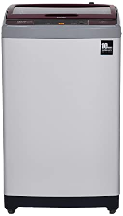 Haier 7 Kg Fully-Automatic Top Loading Washing Machine (HWM70-707NZP, Silver)