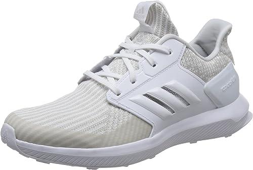 adidas RapidaRun Knit J, Zapatillas de Running Unisex Niños, Gris (Gridos/Ftwbla/Ftwbla 000), 38 EU: Amazon.es: Zapatos y complementos