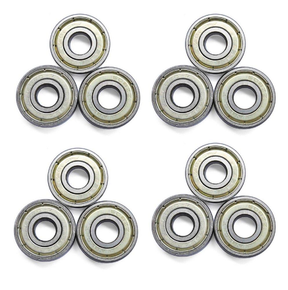 Panda Superstore 16-Count 608 Bearings ABEC-7 Skate Bearings