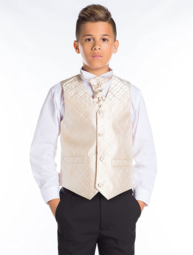 Paisley of London, niños Traje Negro, Slim Fit Suit, Diamante ...