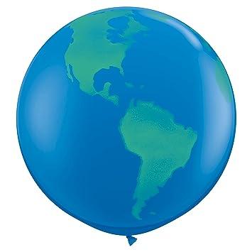 Amazon qualatex round globe biodegradable latex balloon 36 qualatex round globe biodegradable latex balloon 36 inch 2 units gumiabroncs Choice Image