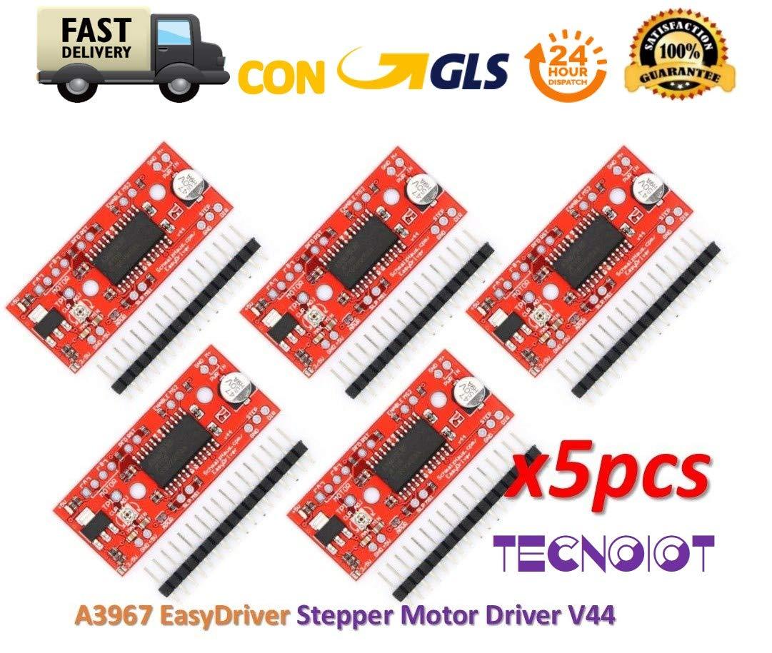 TECNOIOT A3967 EasyDriver Stepper Motor Driver V44 Sviluppo Board
