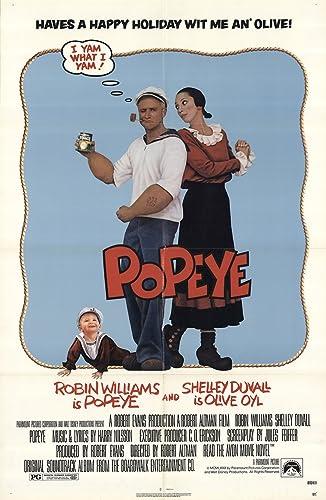 "Popeye 1980 Authentic 27"" x 41"" Original Movie Poster Robin ..."