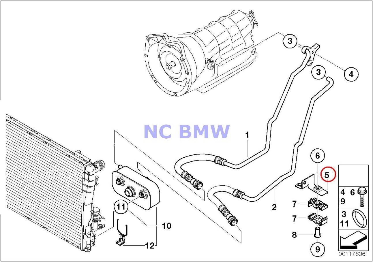 Brand New Auto Transmission Cooler For BMW E46 325i 330i 325xi 325Ci 330Ci 330xi X3 Z4 2.5 17227505826
