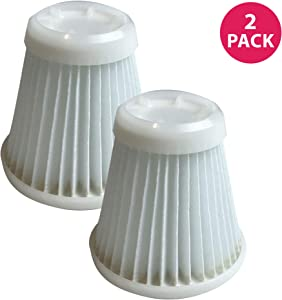 Crucial Vacuum Replacement Vacuum Filter Compatible with Black and Decker Pivot Vac Filter Part - Washable, Reusable with Vacuums Parts PVF100, 514723900, Fits Model PHV1800, PHV1800CB - Bulk (2 Pack)