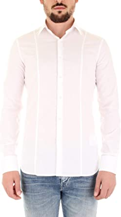 Guess Marciano 92H402-4416Z Camisa para hombre Bianco 38 ...