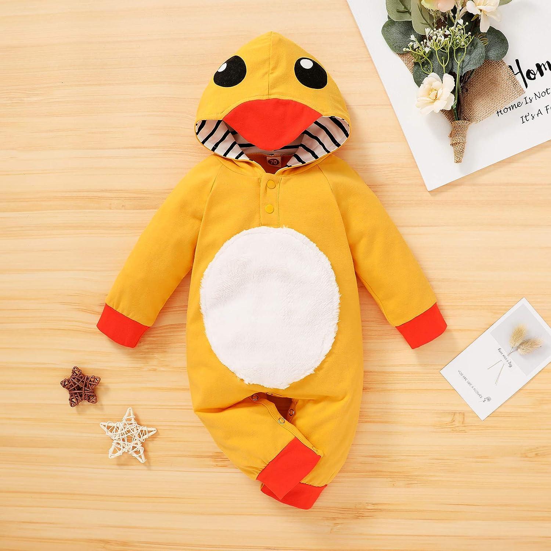 AM/_ LK/_ Newborn Infant Baby Cute Fox Pattern Romper Bodysuit Playsuit Outfits No