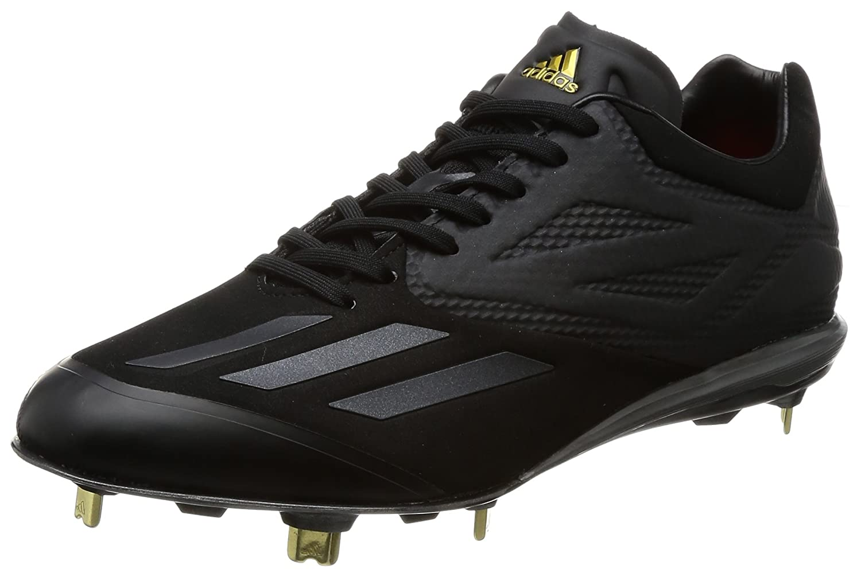 adidas(アディダス) 野球 スパイク アディゼロVI SP LOW AQ8349 コアブラック×コアブラック×ゴールドメット B06WW8Z4JN 250 コアブラック×コアブラック×ゴールドメット(_)