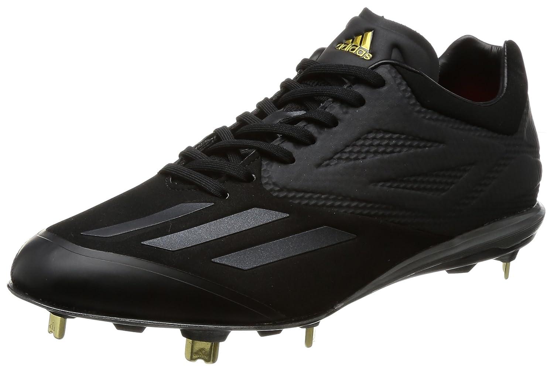 adidas(アディダス) 野球 スパイク アディゼロVI SP LOW AQ8349 コアブラック×コアブラック×ゴールドメット B06X9CM6YMコアブラック×コアブラック×ゴールドメット(_) 240