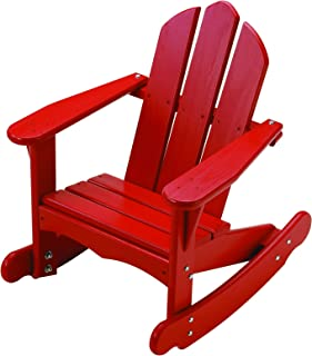 product image for Little Colorado 141RD Red Kid's Adirondack Rocker