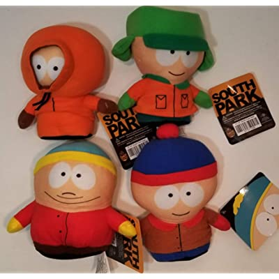 Toy Factory South Park Character Plush (Small South Park Bundle) 5in to 10in: Toys & Games