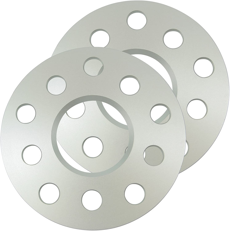 SilverLine Spurverbreiterung HA 10mm Achse LK: 5x112 NLB: 66,6mm 10213E/_18/_4250891962857 5mm Rad