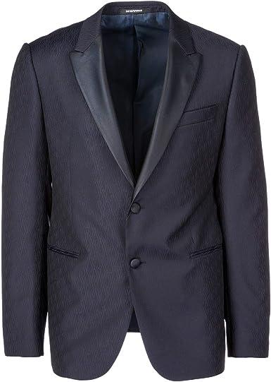 Emporio Armani cazadoras hombres americana chaqueta nuevo blu EU 50 (UK 40) 11GMO011807: Amazon.es: Ropa y accesorios