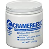Cramergesic Mild Warmth Analgesic for Relief from Muscle Soreness, Aches, Joint and Arthritis Pain, Penetrating Lotion Soothes Tight Muscles Before and After Athletics, Exercise, or Workouts, 1 or 5 lb