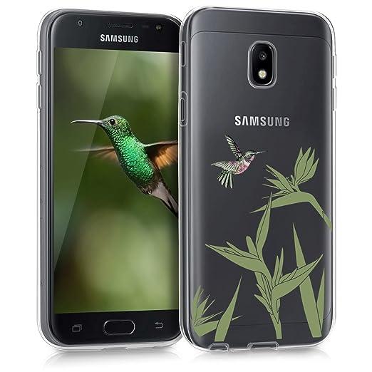 8 opinioni per kwmobile Cover per Samsung Galaxy J3 (2017) DUOS- Custodia in silicone TPU- Back
