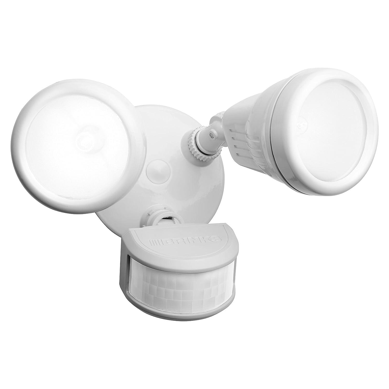 Brinks 7011W 100W 2-Head Halogen JCD 240-Degree Light