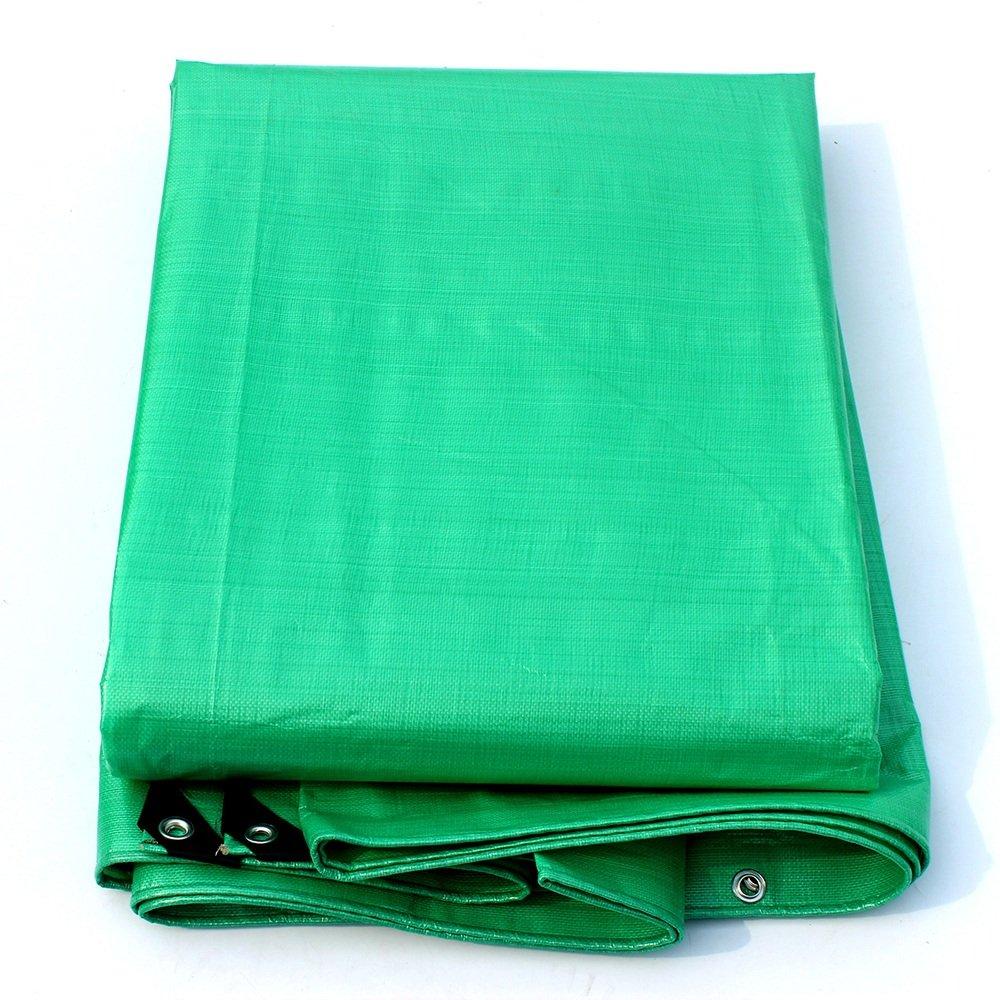 PJ Zelt Wasserdichtes Tuch Verdicken Regenschutz Wasserdichtes Tuch Regenplane Sonnencreme Schatten Tuch Autoplane Farbiges Tuch 140g M², Dicke 0,33 mm, 9 Größen Optionalze Es ist Weit verbreitet