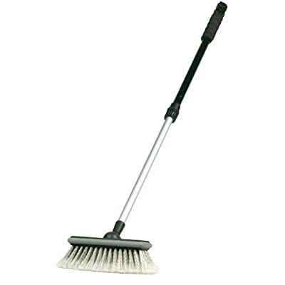"Carrand 92022S Flow-Thru 8"" Deluxe Wash Brush with 40"" Extension Pole: Automotive"