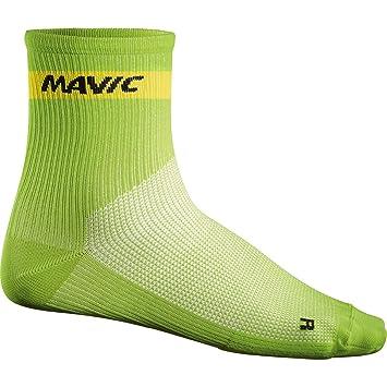 Calcetines de ciclismo Cosmic de Mavic, de corte medio, color verde, Mavic,