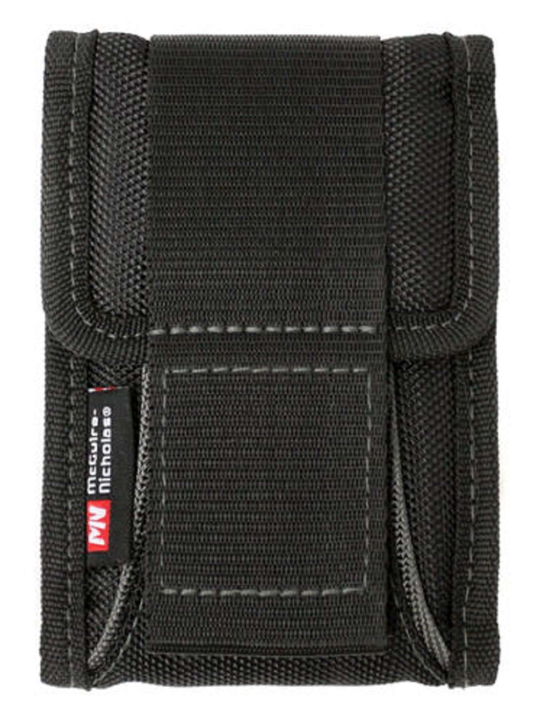 McGuire-Nicholas Belt Waistband Cell Phone Holder - with adjustable strap, black - 4'' W x 6'' H x 1'' D
