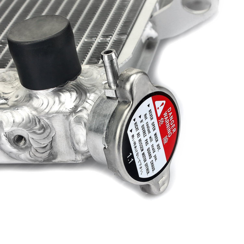 TARAZON Moto Alluminio radiatore dellacqua del motore per Yamaha Fazer 1000 FZ1 06 07 08 09 10 12