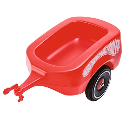 BIG AQUAPLAY 800001300 Aquaplay Bobby Car Trailer, Red: Toys & Games