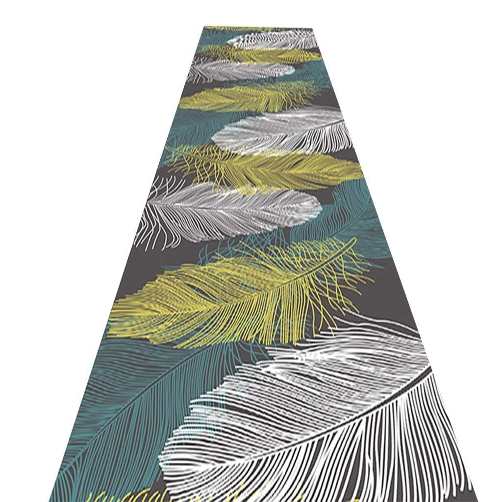 敷物ランナー廊下エントランス滑り止めパッド簡単に汚れ防止防汚アンチフェードマシンウォッシュカーペット (サイズ さいず : 0.9*5 m) 0.9*5 m  B07PCPZMT2