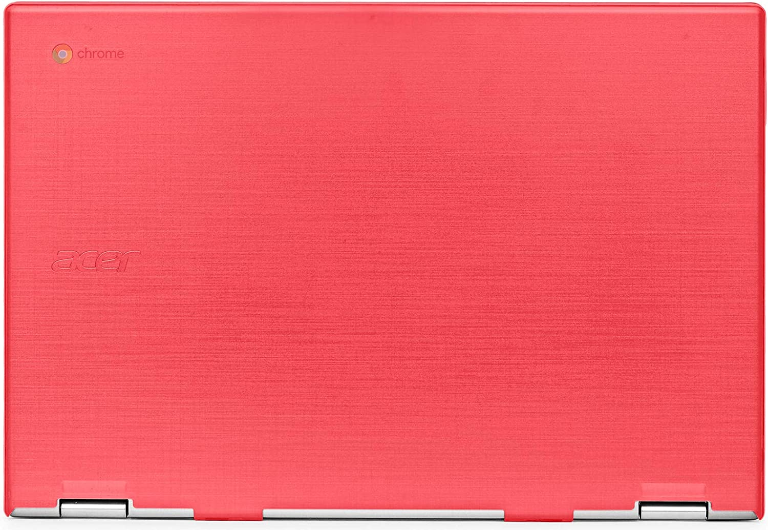 "mCover Hard Shell Case for 2019 15.6"" Acer Chromebook 15 CB315 Series (NOT Compatible with Older Acer chromebook C910 / CB5-971 / CB3-531 / CB515, etc) Laptop Computer (AC15-CB315-Red)"